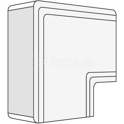 Угол плоский для кабель-канала 120х60 NPAN ДКС 01746