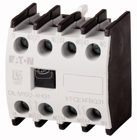 Блок вспомогательных контактов DILM40-170 DILM150-XHI40 4п 4НО винт. зажимы фронт. EATON 277948