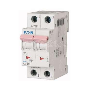 Выключатель автоматический модульный 2п C 12А 6кА PL6-C12/2 EATON 164818 купить в интернет-магазине RS24