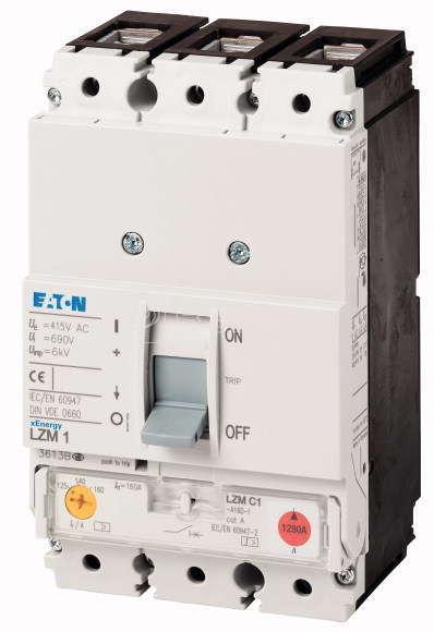 Выключатель автоматический 3п 25кА 25А LZMB1-A25-I EATON 111849 купить в интернет-магазине RS24