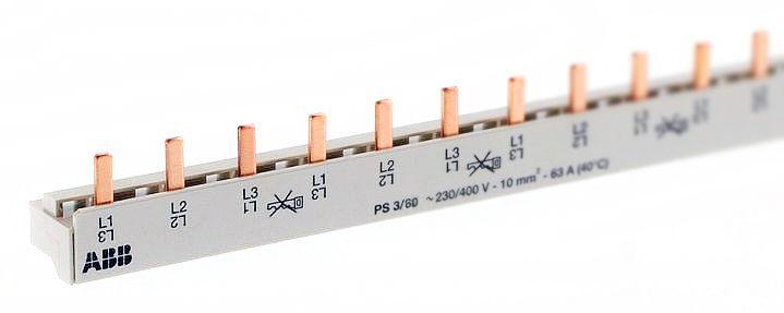 Разводка шинная 3ф PS3/60 Comp(PIN) ABB 2CDL230001R1060