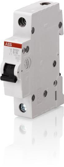 Выключатель автоматический модульный 1п C 10А 6кА SH201 C 10 ABB 2CDS211001R0104