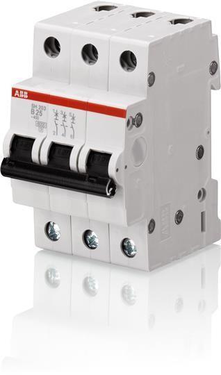 Выключатель автоматический модульный 3п C 20А 6кА SH203 C 20 ABB 2CDS213001R0204