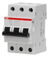 Выключатель автоматический модульный 3п C 40А 6кА SH203 C 40 ABB 2CDS213001R0404