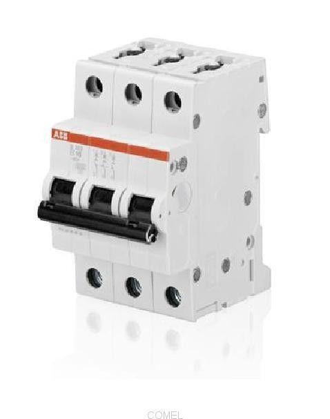 Выключатель автоматический модульный 3п C 63А 6кА SH203 C63 ABB 2CDS213001R0634