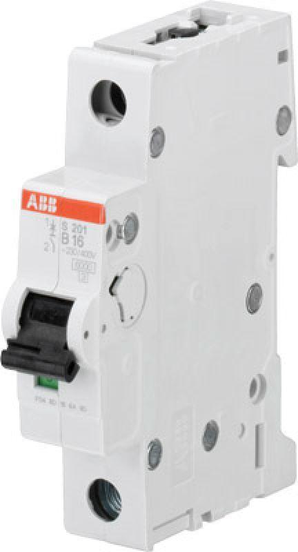 Выключатель автоматический модульный 1п B 20А 6кА S201 B20 ABB 2CDS251001R0205