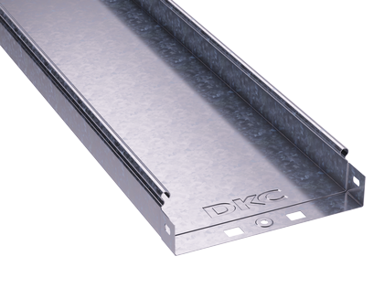 Лоток листовой неперфорированный 50х50 L2000 сталь 0.7мм DKC 35010