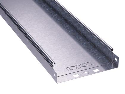 Лоток листовой неперфорированный 400х50 L3000 сталь 1мм DKC 35026