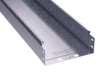 Лоток листовой неперфорированный 300х80 L3000 сталь 0.8мм DKC 35065