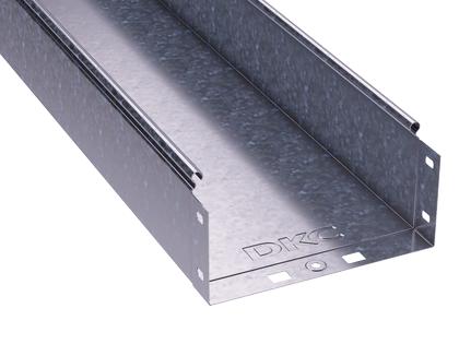 Лоток листовой неперфорированный 300х100 L3000 сталь 0.8мм DKC 35104