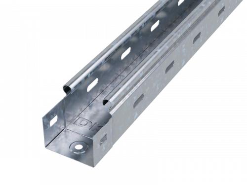 Лоток листовой перфорированный 50х50 L2000 сталь 0.7мм DKC 35250