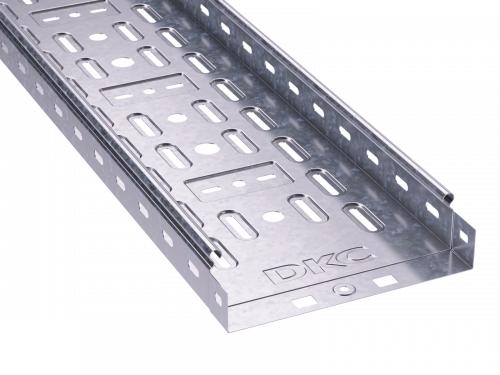 Лоток листовой перфорированный 300х50 L3000 сталь 0.7мм DKC 35265