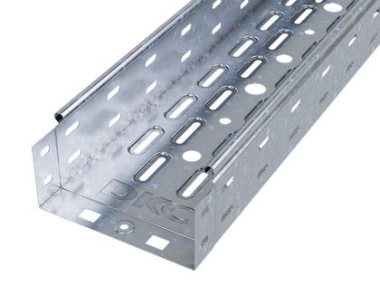 Лоток листовой перфорированный 150х100 L3000 сталь 0.7мм DKC 35342