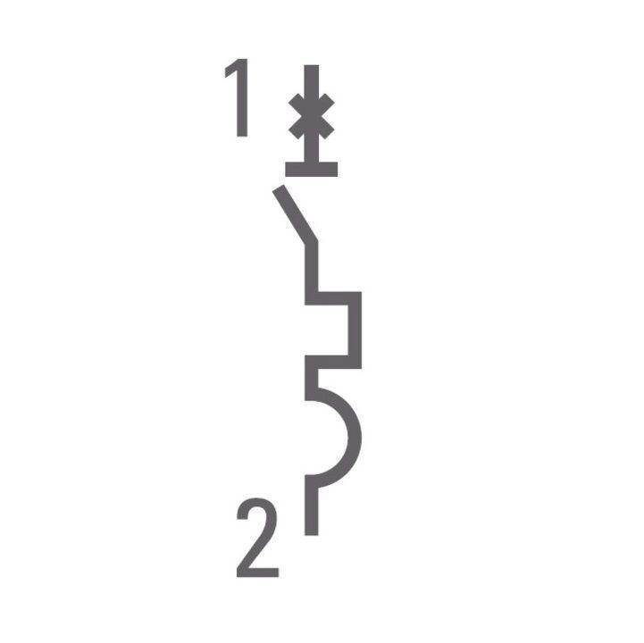 Выключатель автоматический модульный 1п B 40А 4.5кА ВА 47-63 PROxima EKF mcb4763-1-40B-pro