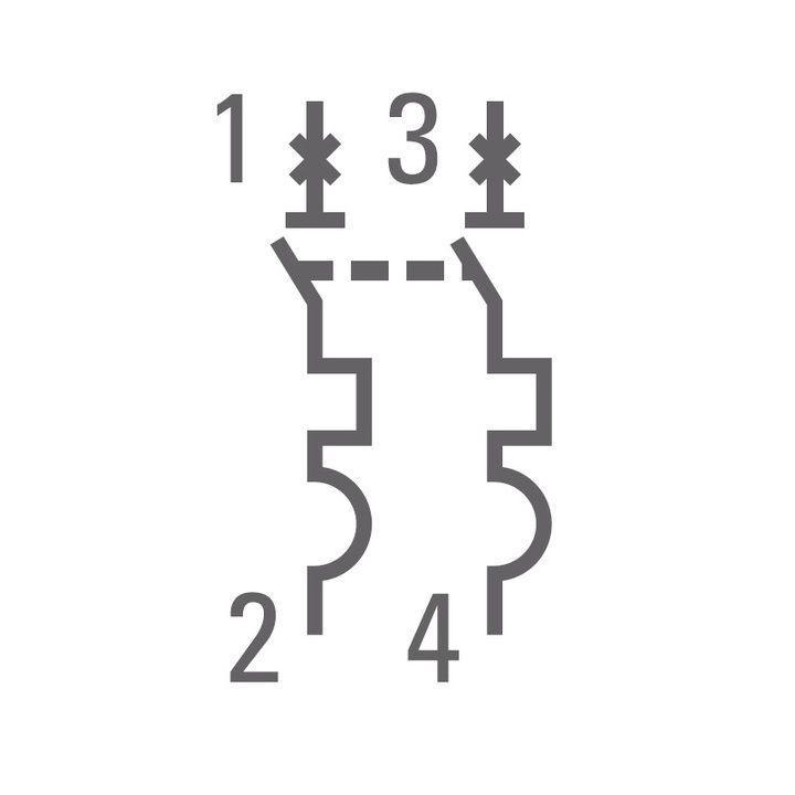 Выключатель автоматический модульный 2п C 40А 4.5кА ВА 47-63 PROxima EKF mcb4763-2-40C-pro