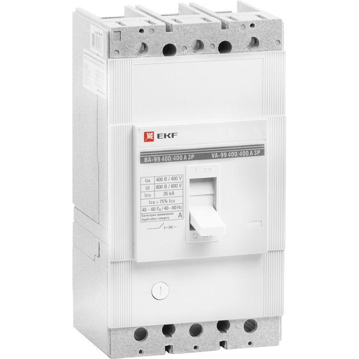 Выключатель авт. 3п ВА-99 400/315А EKF mccb99-400-315