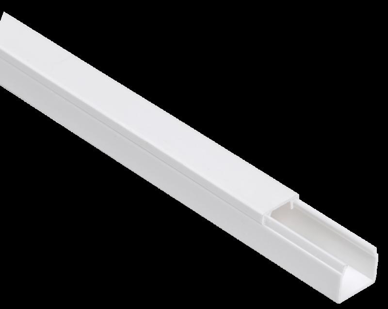 Кабель-канал 12х12 L2000 пластик ЭЛЕКОР ИЭК CKK10-012-012-1-K01