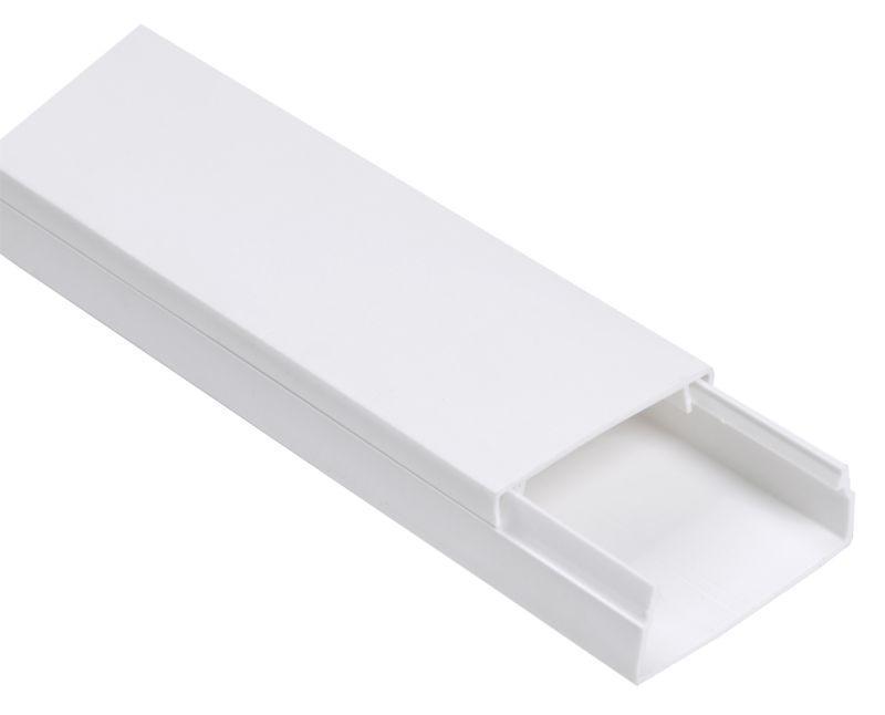 Кабель-канал 80х60 L2000 пластик ECOLINE IEK CKK11-080-060-1-K01-008