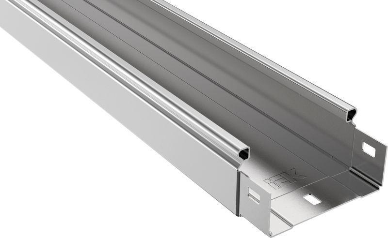 Лоток листовой неперфорированный 100х50 L3000 сталь 0.7мм IEK CLN10-050-100-3