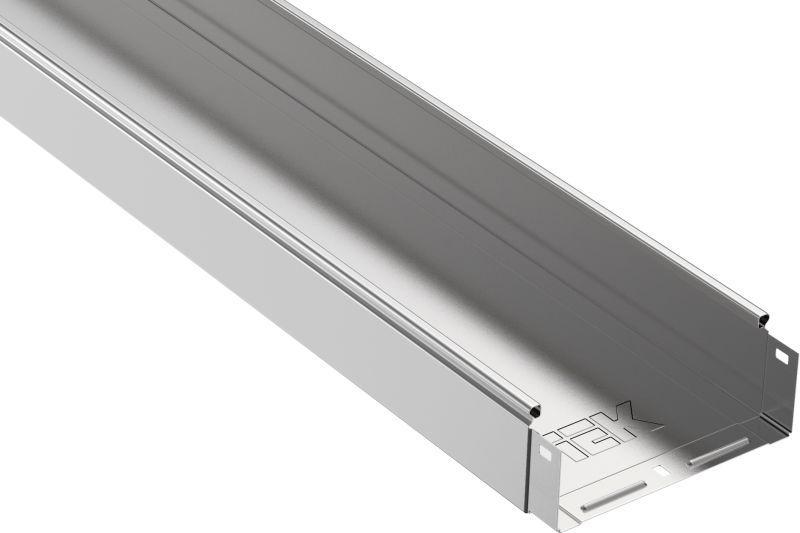 Лоток листовой неперфорированный 200х80 L3000 сталь 0.8мм IEK CLN10-080-200-3