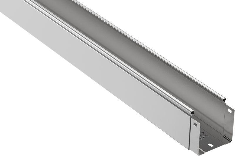 Лоток листовой неперфорированный 100х100 L3000 сталь 0.7мм IEK CLN10-100-100-3