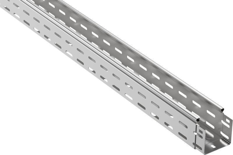Лоток листовой перфорированный 100х80 L3000 сталь 0.7мм IEK CLP10-080-100-3