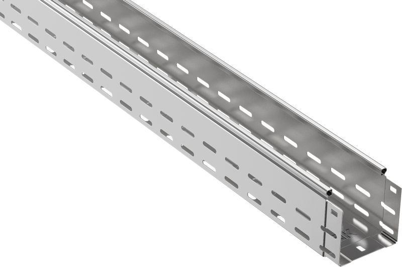 Лоток листовой перфорированный 150х100 L3000 сталь 0.8мм IEK CLP10-100-150-3