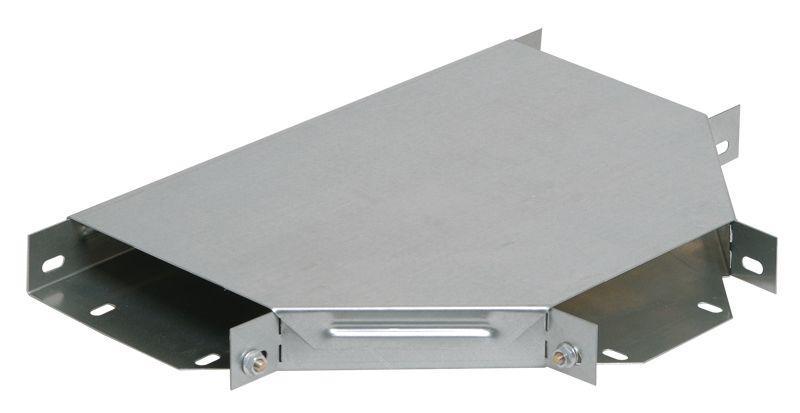 Ответвитель для лотка Т-образ. горизонт. 300х50 с кр. IEK CLP1T-050-300