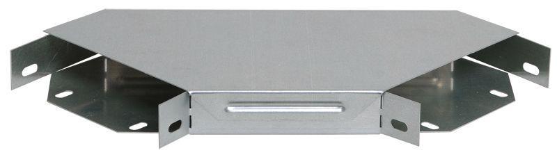 Угол для лотка горизонтальный 90град. 300х50 с кр. IEK CLP2P-050-300
