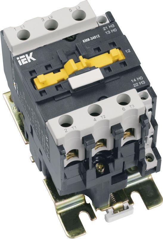 Контактор КМИ-34012 40А 400В/AC3 1HО;1H3 ИЭК KKM31-040-400-11