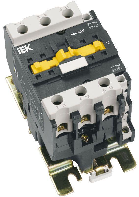 Контактор КМИ-49512 95А 400В/AC3 1HО;1H3 ИЭК KKM41-095-400-11