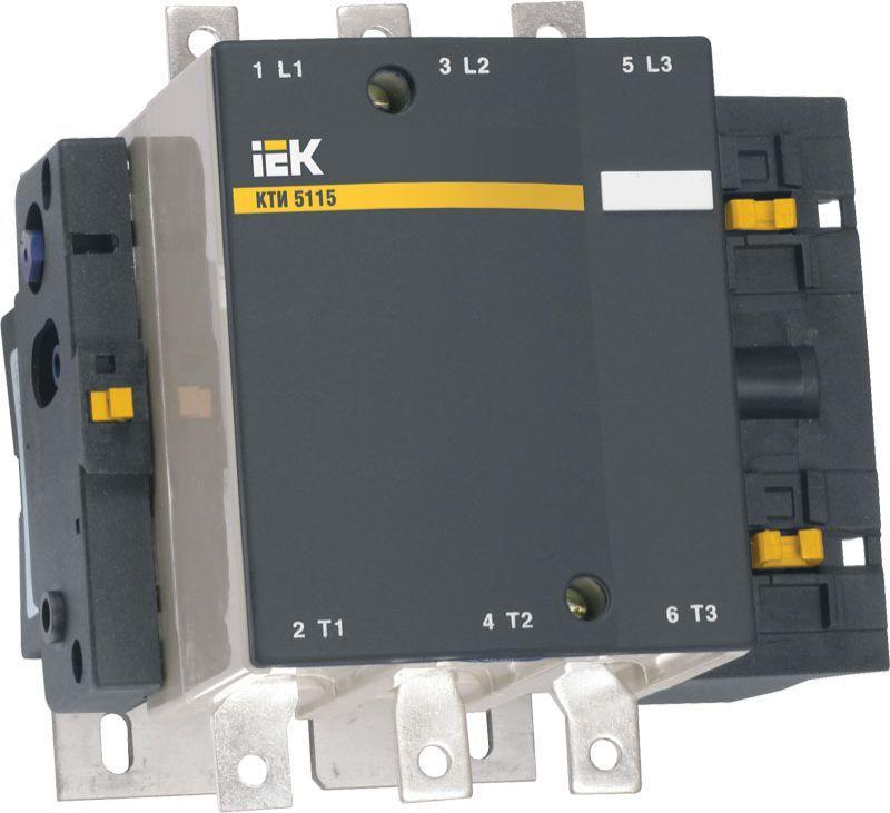 Контактор КТИ-5150 150А 230В/АС3 ИЭК KKT50-150-230-10