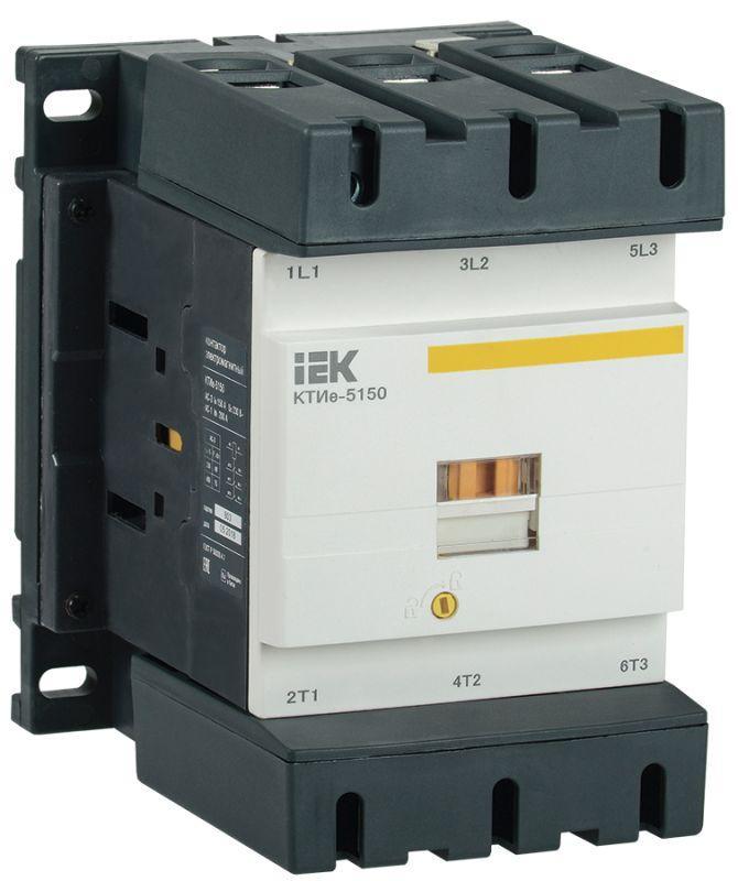 Контактор КТИе-5150 150А 400В/АС3 ИЭК KKTE50-150-400-10