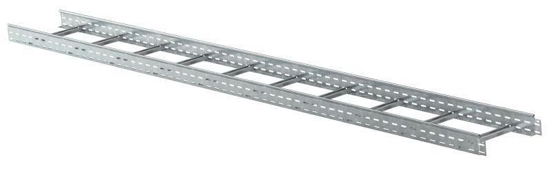 Лоток лестничный 300х50 L3000 сталь 1.2мм IEK LLK1-050-300