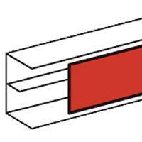 Крышка для кабель-канала L2000 шир. 65мм Leg 010521