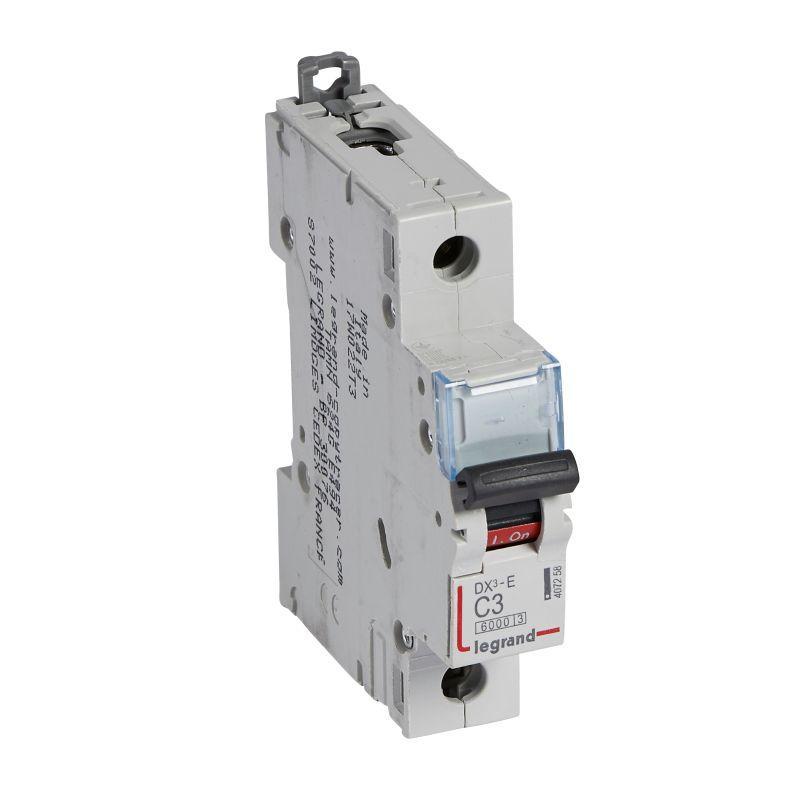 Выключатель автоматический модульный 1п C 3А 6кА DX3-E 6000 1мод. 230/400В Leg 407258