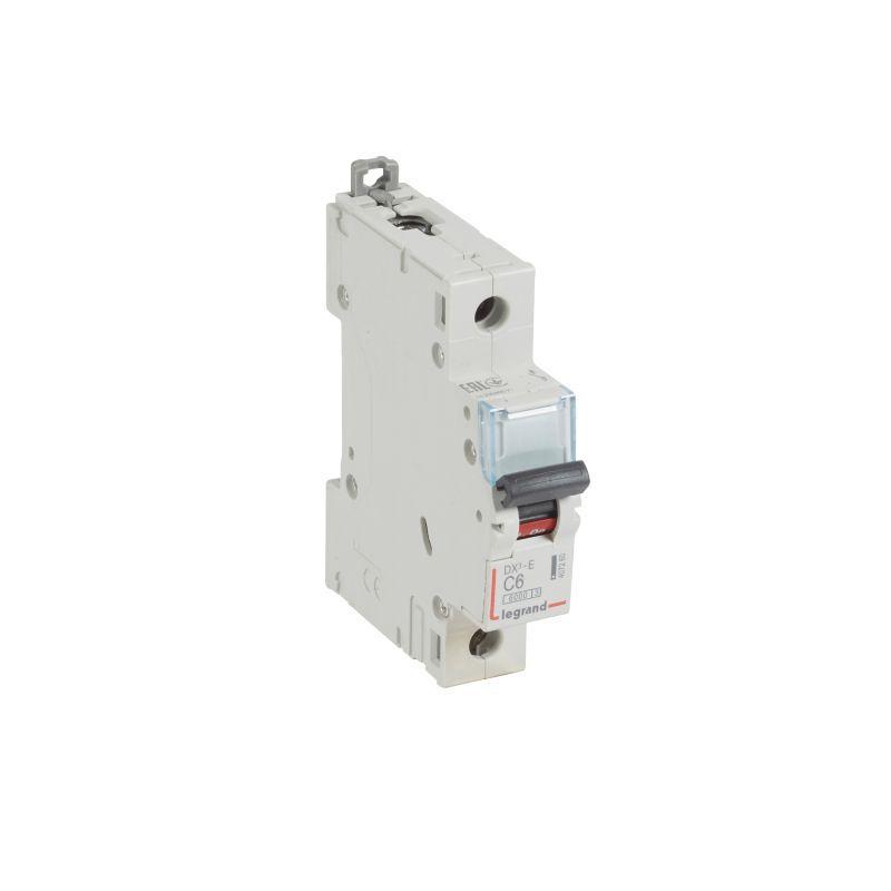 Выключатель автоматический модульный 1п C 6А 6кА DX3-E 6000 1мод. 230/400В Leg 407260