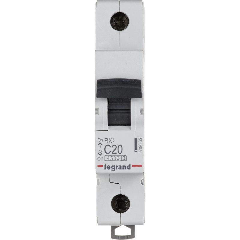 Выключатель автоматический модульный 1п C 20А 4.5кА RX3 Leg 419665
