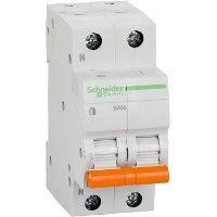 Выключатель автоматический модульный 2п (1P+N) C 32А 4.5кА BA63 Домовой SchE 11216