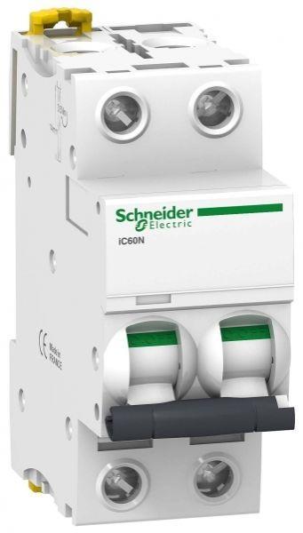 Выключатель автоматический модульный 2п C 1А 6кА iC60N SchE A9F74201