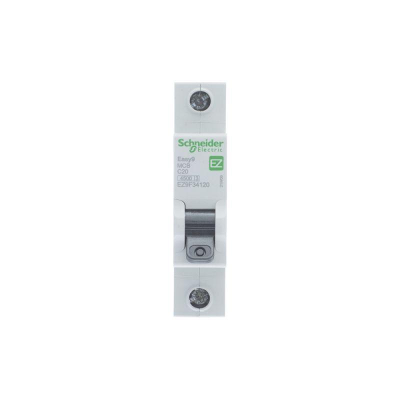 Выключатель автоматический модульный 1п C 20А 4.5кА EASY9 =S= SchE EZ9F34120