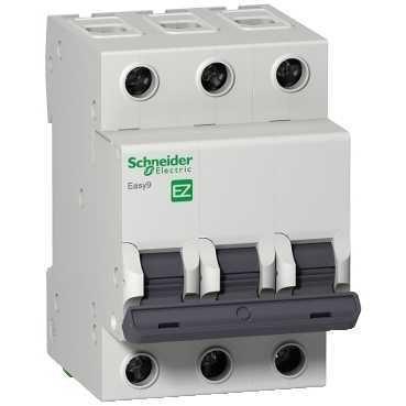 Выключатель автоматический модульный 3п C 16А 4.5кА EASY9 =S= SchE EZ9F34316
