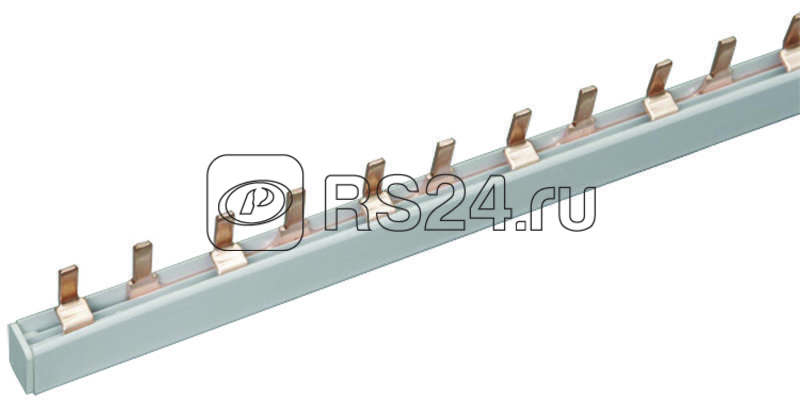 Шина соединительная PIN 3ф 63А мед. изол. 54мод (дл.1м) EKF pin-03-63