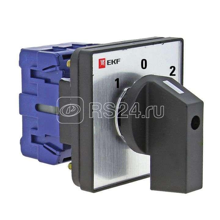 Переключатель кулачковый ПК-1-24 4П 25А 1-0-2 EKF pk-1-24-25 купить в интернет-магазине RS24