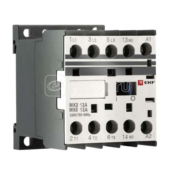 Миниконтактор МКЭ 9А 24В 1NO PROxima EKF Mctr-s-9-24 купить в интернет-магазине RS24