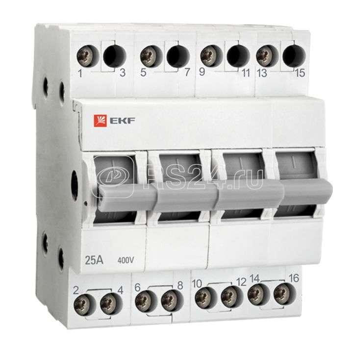 Переключатель трехпозиционный 4п 25А Basic EKF tps-4-25 купить в интернет-магазине RS24