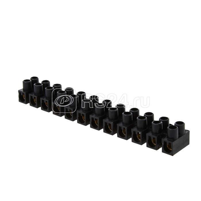 Колодка клеммная 35мм 80А полистирол черн. EKF plc-KK-35-80-ps-b купить в интернет-магазине RS24