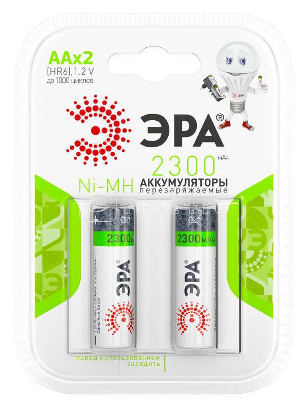 Аккумулятор HR6-2BL 2300мА.ч (блист.2шт) ЭРА C0038457 купить в интернет-магазине RS24