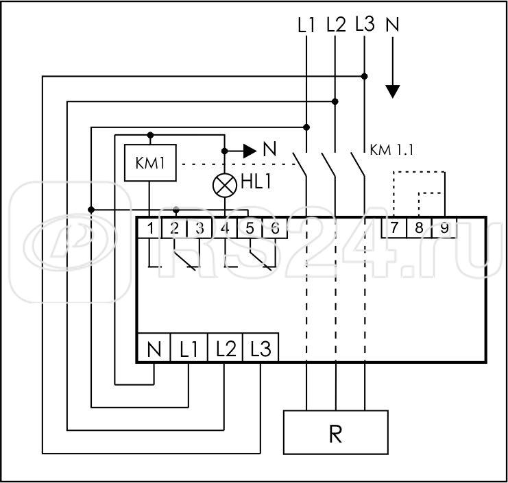 Ограничитель мощности ОМ-630 3ф 5-50кВт многофункц. подключение приоритетной и неприоритетной нагрузок F&F EA03.001.007 купить в интернет-магазине RS24