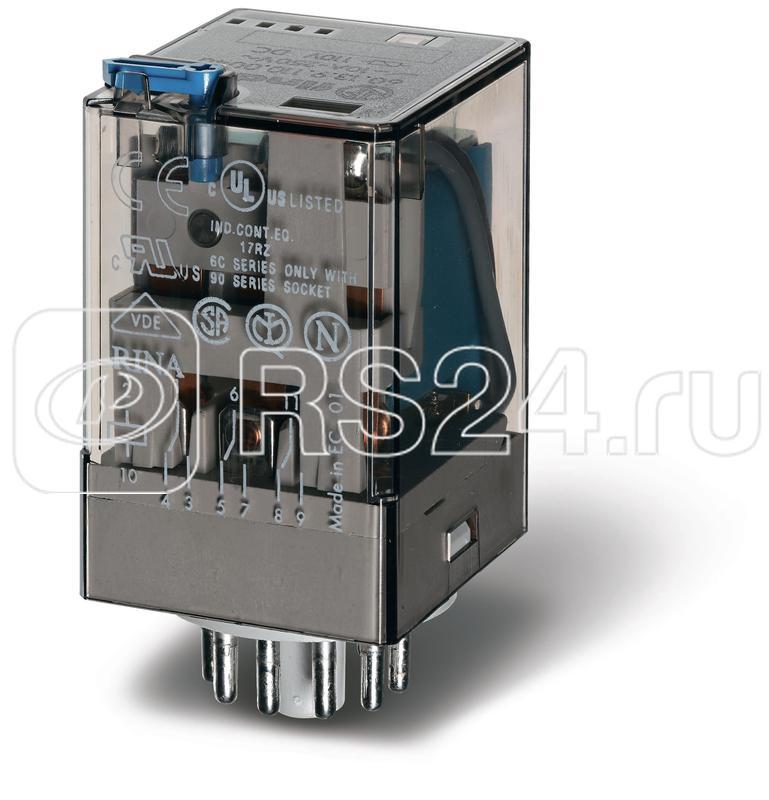 Реле универсальное 10А 24В DC Finder 601390242040 купить в интернет-магазине RS24